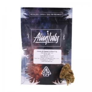 alien labs california-conforme mylar-zakken 3,5 gram - Safecare